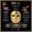 Mojo facial gold mask มาส์กหน้ากากทองคำ ราคา กล่องละ 580 บาท/ ราคา 3 กล่อง กล่องละ 530 บาท/6 กล่อง กล่องละ 520 บาท ขายเครื่องสำอาง อาหารเสริม ครีม ราคาถูก ของแท้100% ปลีก-ส่ง thumbnail 5