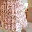 ชุดเดรสสั้นแฟชั่นเกาหลี สีชมพู พิมพ์ลายผีเสื้อ แบบสวย จะทำให้คุณเป็นสาวหวาน น่ารักๆ สามารถใส่ไปงานแต่งงาน ใส่ทำงานได้ thumbnail 10