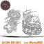 [TATTOO DESIGNS] หนังสือลายสัก Creative Colouring For Grown-Ups รูปลายสักสวยๆ รูปรอยสักสวยๆ สักลายสวยๆ ภาพสักสวยๆ แบบลายสักเท่ๆ แบบรอยสักเท่ๆ ลายสักกราฟฟิก Creative Colouring For Grown-Ups Tattoo Manuscripts Flash Art Design Outline Sketch Book (A4 SIZE) thumbnail 4
