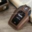 ซองหนังแท้ ใส่กุญแจรีโมทรถยนต์ BMW 7 Series 520d,G30,530i Smart Key รุ่นทัสกรีน thumbnail 6
