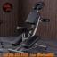 เก้าอี้สักลายรุ่นอัพเกรดความแข็งแรง เก้าอี้นั่งสัก เก้าอี้พับได้ เก้าอี้พกพาโครงเหล็กผสมแมงกานีส สำหรับการสัก นวด สปา Upgraded Foldable Portable Massage Tattoo Spa Chair (สีดำ BLACK) thumbnail 1