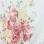 ชุดเดรส จ้้มเอว ลายดอกไม้ ขนาด ฟรีไซส์ สีเบจ thumbnail 7