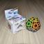 Z-Cube Megaminx with black carbon-fibre stickers - Stickerless thumbnail 1