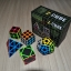 Z-Cube Five Cubes Set with Black Carbon Fibre Stickerless - Stickerless thumbnail 4