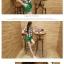 ชุดเดรสแฟชั่นเกาหลี ชุดเดรสแฟชั่นน่ารัก ชุดเชตเสื้อคอกลมแขนกุด ลายตาราง + กางเกงขาสั้น ( M, L, XL ) thumbnail 4