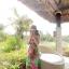 ชุดเดรสยาวใส่ไปเที่ยวทะเลสวยๆ โทนสีชมพู เขียว สายเดี่ยว เอวยืด ผ้าชีฟอง สวมใส่สบาย thumbnail 6