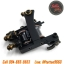 [TM462] เครื่องสักคอย เครื่องสักคอยล์ เครื่องสักเดินเส้น เครื่องสักลายแทททู (Black Pro 10Wrap Coils Tattoo Machine) thumbnail 4