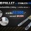 รถลากพาเลท Hand Pallet Stainless Steel รับน้ำหนักถึง 2500 กิโลกรัม งากว้าง 685 mm. thumbnail 1