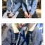 เสื้อยีนส์กันหนาว | โค้ทยีนส์หนาว | แฟชั่นกันหนาว thumbnail 9