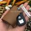 ซองหนัง ใส่กุญแจรีโมทรถยนต์ BMW รุ่น ดันข้าง BMW Series3 (90) Series5 (E60) Series7 Z4 (E85) X1(E84) thumbnail 10