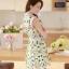ชุดเดรสสั้นแฟชั่นเกาหลี พิมพ์ลายเก๋ๆ สีสดใส เหมาะกับการใส่เที่ยวสบาย หรือ จะใส่ไปงานเลี้ยง จะทำให้คุณดูสวย สง่า มั่นใจ thumbnail 8