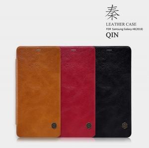 เคสมือถือ Samsung Galaxy A8 (2018) รุ่น Qin Leather Case