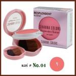 No.04 Resplendent Blusher Sivanna Colors