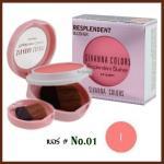 No.01 Resplendent Blusher Sivanna Colors