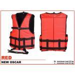 เสื้อชูชีพ รุ่น Oscar Size XL สีแดง