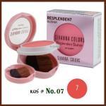 No.07 Resplendent Blusher Sivanna Colors