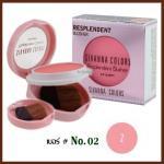No.02 Resplendent Blusher Sivanna Colors