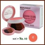 No.10 Resplendent Blusher Sivanna Colors