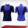 เสื้อจักรยาน แขนสั้น สีน้ำเข้ม - ดำ