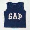GapKids : เสื้อกล้าม ติดโลโก้ GAP สีน้ำเงิน size 130 / 150
