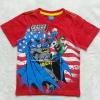 Justice League : เสื้อยืดสกรีนลาย Justice League สีแดง (งานช้อป) size 10