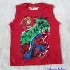 เสื้อกล้าม ลาย Avenger สีแดง size 2-4y / 8-10y