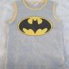 H&M : เสื้อกล้ามสีเทา สกรีนลาย Batman size : 6-8y / 8-10y