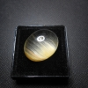 แก้วพิรุณฝนแสนห่า สีทอง น้ำงาม พริ้วสวย ขนาด1.8x 1.4 cm