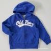 Old navy : เสื้อแจ็คเก็ทกันหนาว มีฮูด สีน้ำเงิน size 3T