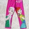 H&M : เลกกิ้ง สกรีนลายเจ้าหญิงเอลซ่า แอนนา สีชมพู size : 2-4y / 8-10y