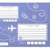 ซองไปรษณีย์พลาสติก สีม่วง ขนาด 12 X 15 + 1.57 นิ้ว (30.4 X 39.4 ซม.) ซองละ 3.8 บาท