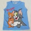 H&M : เสื้อกล้าม Tom&Jerry สีฟ้า size : 8-10y