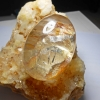 หายาก เม็ดโตมากๆ แก้วเข้าแก้วภูเขาเงินทอง หายาก ขนาด 5.7*3.8 สะสมบูชา