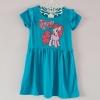 H&M : เดรสสกรีนลายม้าโพนี่ Pinkie pie สีฟ้าเข้ม size 2-4y / 6-8y / 8-10y