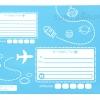 ซองไปรษณีย์พลาสติก สีฟ้า ขนาด 10 X 13 นิ้ว (25.5 X 33 ซม.) ซองละ 2.6 บาท