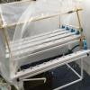 ชุดปลูกผักไฮโดรโปนิกส์ (hydroponic set) 45 ช่องปลูก+รางอนุบาล