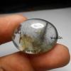 แก้วสามกษัตริย์ แก้วเข้าสลัก+ขนเหล็ก+เข้าแร่ ขนาด3 x 2.2 cm ทำหัวแหวนหรือจี้
