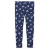 Carter's : เลกกิ้ง สีน้ำเงิน ลายดอกไม้เล็ก (งานขีดป้าย) size 4T,5T