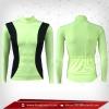 เสื้อจักรยาน แขนยาว สี lightgreen