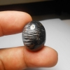 ขั้นเทพ หายาก แก้วขนเหล็กเส้นแกร่ง น้ำใสงาม A+++ ขนาด 2.4x 1.8 cm ทำหัวแหวน จี้