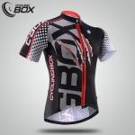 เสื้อจักรยานแขนสั้น Cyclingbox 2015 สีเทาดำลายกรงเล็บ สั่งจอง (Pre-order)