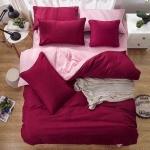 ชุดเครื่องนอนเกรด A สีพื้น