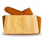 พร้อมส่ง warming waist belt กระเป๋าน้ำร้อนไฟฟ้า พร้อมเข็มขัดรัดเอวสีเหลือง ข้าวหลามตัด
