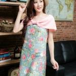 เดรสผ้าแคนวาสญี่ปุ่น