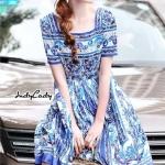 Mini dress งานแบรนด์ DG ทรงสวย