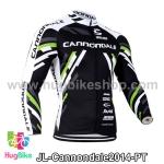 เสื้อจักรยานแขนยาวทีม Cannondale 14 สีลาย สั่งจอง (Pre-order)