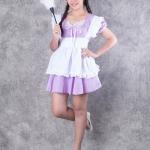 เช่าชุดแฟนซี &#x2665 ชุดแฟนซี ชุดเมด Maid สาวเสิร์ฟ สีม่วง