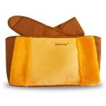 พร้อมส่ง warming waist belt กระเป๋าน้ำร้อนไฟฟ้า พร้อมเข็มขัดรัดเอวสีเหลือง
