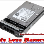 DELL 1TB 7.2K RPM SATA 3.5INCH 6Gb/s HDD , 2T51W