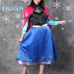 เช่าชุดแฟนซี &#x2665 ชุดแฟนซี เจ้าหญิง อันนา Frozen รุ่นสั้น